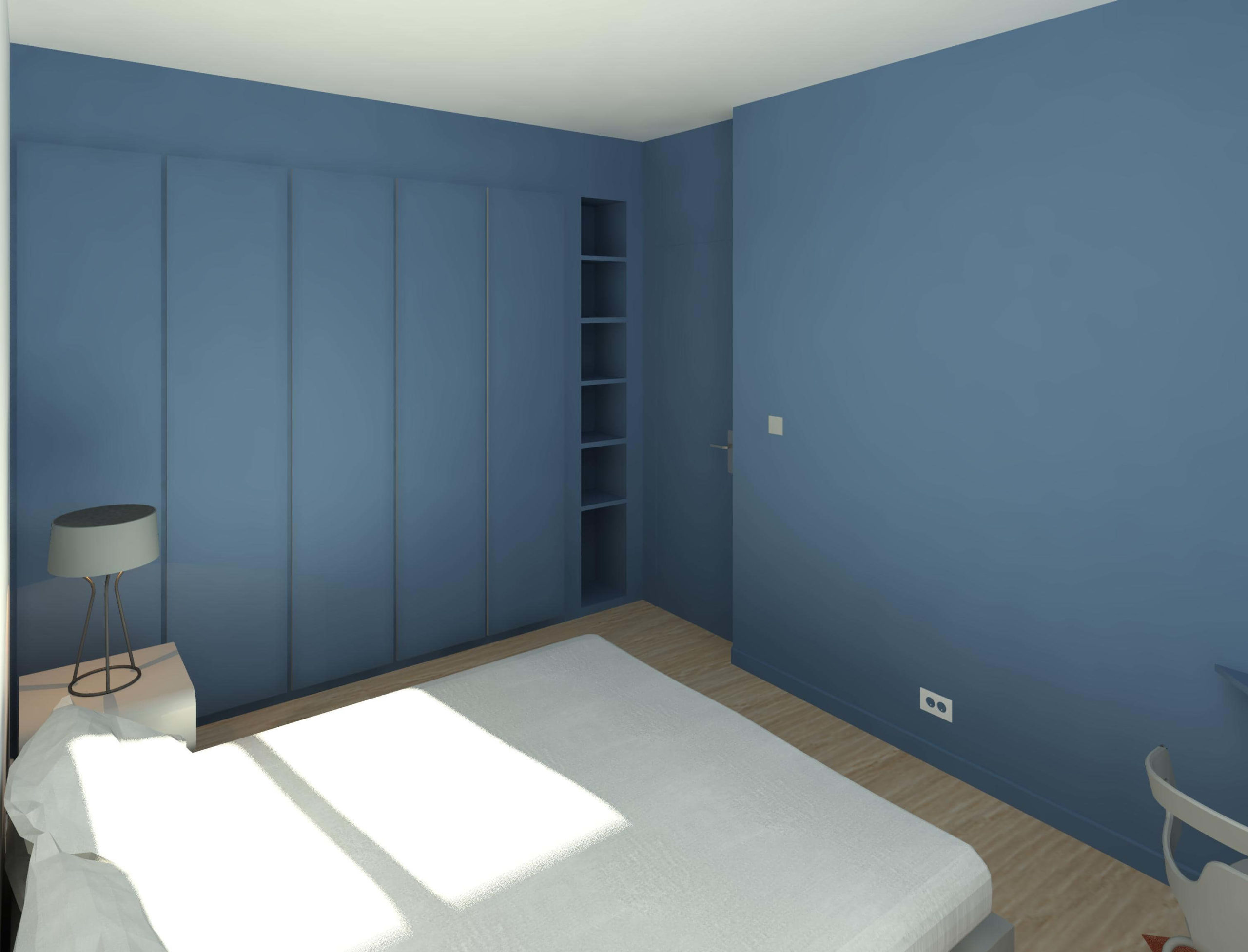 Chambre parentale 3D